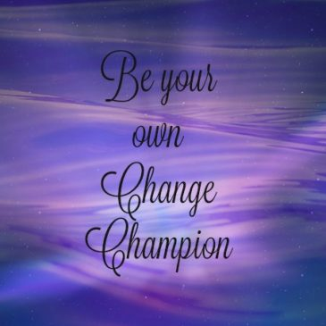 How to be your own Change Champion