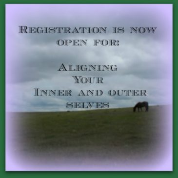 Aligning Your Inner and Outer Selves – now open for registration