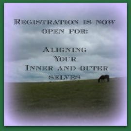 Aligning Your Inner and Outer Selves – Registration Now Open